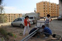 红古区大通路社区太阳能龙8国际登录采购安装工程