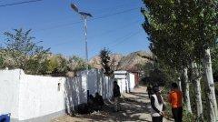 """永登红城镇野泉村""""双联扶贫项目""""太阳能龙8国际登录安装工程"""