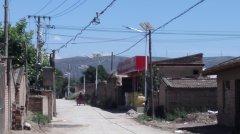 榆中詹家营、大兴营村村容村貌整治美丽乡村太阳能路能